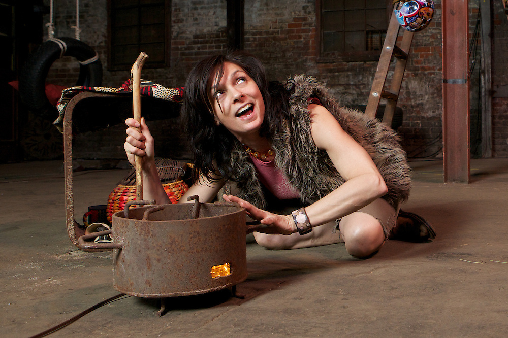 """From the press release..A Cat Kidd/Scapegoat Carnivale Theatre co-production.Hyena Subpoena.Written and performed by Catherine KiddDirected by Alison DarcyOctober 13–29, 2011. .If I could be a hybrid species, here's what I would beA creature who's one-half hyena, and one-half meAnd should I be called to testify upon my own behalf,I'll take the stand, and be sworn in, then laugh and laughand laugh.- Mona Morse.Montreal, October 13 2011.– Cat Kidd productions and Scapegoat Carnivale Theatre are thrilled topresent.Hyena Subpoena ., a new solo multimedia creation by one of Canada's highly regarded writer/spoken word artists.Catherine Kidd.,. .directed by . Alison Darcy.. Set in a campsite in South Africa's famed Kruger Park, the show is eight interlinked stories told by activist and poet MonaMorse who has fled civilization for the bushveld. Postcards home claim she's transformed herself into a hyena. With the humour of hindsight, Morse recounts the rocky 'school of hard knock knock jokes' thatshaped her turbulent past. Inspired by encounters with hyena, antelope, lions or elephants, Mona'sstories prowl the boundaries between predator and prey, individual and society, freedom andcaptivity, as she recalls the events that led to her confinement in a residential psych unit..Hyena Subpoena .is an uplifting work of surprising originality, which shines light on the dark milestones thatmeasure a life's journey.In the tradition of the.Künstlerroman ., Morse's stories implicitly chafe against the skewed values of hersociety. Her concern for social conflicts shared by humans and non-humans alike question thenature of personhood and what it means to be granted the status of """"person."""" After a six years touring internationally with her award-winning solo show .Sea Peach,.Kidd took timeaway from the Montreal stage to publish her first novel. With.Hyena Subpoena ., Kidd returns to hersignature performance style, hybridizing poetry with traditional prose na"""