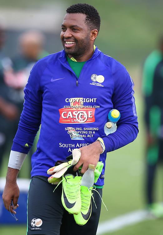 Itumeleng Khune G/K of (Bafana Bafana) South Africa during the Bafana Bafana Training at People's Park, Moses Mabhida Stadium in Durban,21st March 2017 (Steve Haag)