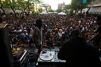 The 5th annual Hyde Park Brew Fest was held Saturday and Sunday, June 5th and 6th, 2018. Participants were treated to a day of music and beer tastings from local breweries with a headline performance by the legendary D.J. Jazzy Jeff. The event was sponsored by the Kimbark Beverage Shoppe, the Hyde Park Chamber of Commerce, Courvosoier and Effen.<br /> <br /> 0304, 0303, 0298, 0287, 0267 &ndash; The Crowd enjoys a performance by D. J. Jazzy Jeff.<br /> <br /> Please 'Like' &quot;Spencer Bibbs Photography&quot; on Facebook.<br /> <br /> Please leave a review for Spencer Bibbs Photography on Yelp.<br /> <br /> Please check me out on Twitter under Spencer Bibbs Photography.<br /> <br /> All rights to this photo are owned by Spencer Bibbs of Spencer Bibbs Photography and may only be used in any way shape or form, whole or in part with written permission by the owner of the photo, Spencer Bibbs.<br /> <br /> For all of your photography needs, please contact Spencer Bibbs at 773-895-4744. I can also be reached in the following ways:<br /> <br /> Website &ndash; www.spbdigitalconcepts.photoshelter.com<br /> <br /> Text - Text &ldquo;Spencer Bibbs&rdquo; to 72727<br /> <br /> Email &ndash; spencerbibbsphotography@yahoo.com<br /> <br /> #SpencerBibbsPhotography #HydePark #Community #Neighborhood<br /> <br /> #killyourcity #citykillerz #illgramers #way2ill #agameoftones #urbex #createexplore #exploretocreate #streetactivityteam #streetdreamsmag #neverstopexploring #featuremeinstagood #igersone #shoot2kill #streetshared #streetmobs #urbanphotography #streetphotography #streetexploration #urbanandstreet #imaginatones #streettogether #streetmagazine #streetmobs #peopleinsquare #moodygrams #illgrammers #instamagazine #twgrammers #shotaroundmag #illkillers #killergrams #superhubs #urbanromantix #livefolk #shotaward #_heater #yngkillers #shotzdelight #1stinstinct  #heatercentral <br /> #agameoftones #ig_masterpiece #ig_exquisite #ig_shotz #global_hotshotz #superhubs #main_vision #master_shots #exclusive_shots #hubs_united #jaw_dropping_shotz #worldshotz #theworldshotz #pixel_ig #photographyislifee #photographyislife #photographysouls #photographye