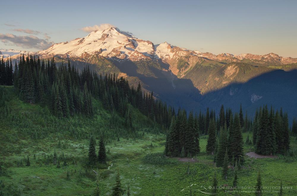 Glacier Peak seen from Miner's Ridge, Glacier Peak Wilderness North Cascades Washington