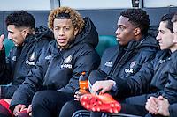 DEN HAAG - ADO Den Haag - Feyenoord , Voetbal , Eredivisie , Seizoen 2016/2017 , Kyocera Stadion , 19-02-2017 , Feyenoord speler Tonny Vilhena zit op de bank omdat hij op scherp staat voor de topper tegen PSV