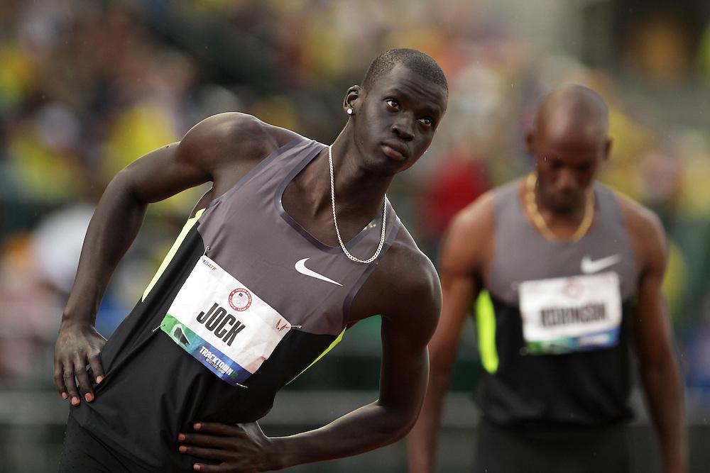 Olympic Trials Eugene 2012: men's 800 meters, Charles Jock