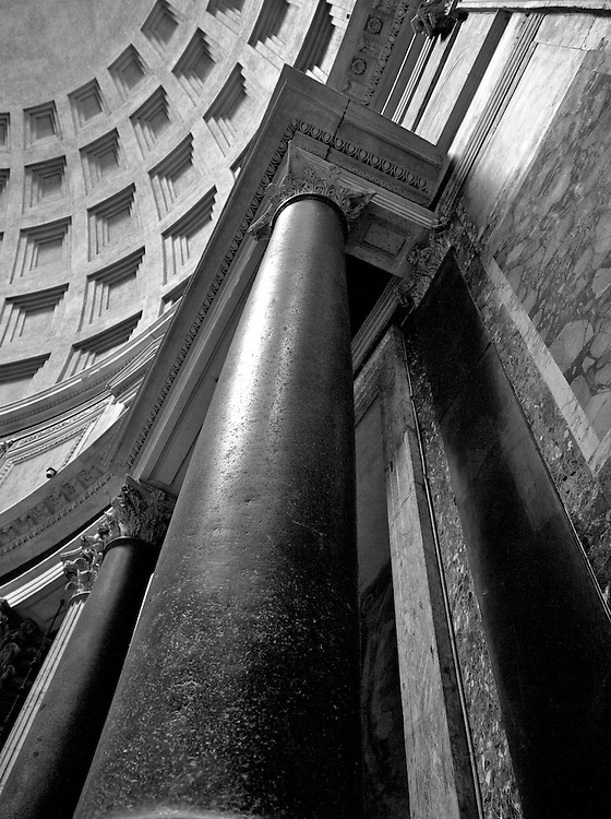 Column detail, Pantheon, Rome