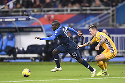 November 14, 2019, Saint Denis, FRANCE: 13 N GOLO KANTE (FRA) - 05 Veaceslav Posmac  (Credit Image: © Panoramic via ZUMA Press)
