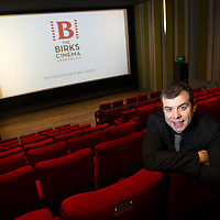 The Birks Cinema in Aberfeldy unveiled after refurbishment....12.04.13<br /> Paul Foley General Manager of The Birks Cinema in Aberfeldy pictured in the new Auditorium after renovation...The cinema opens on Friday 19th April.<br /> Copyright Perthshire Picture Agency<br /> Tel: 01738 623350  Mobile: 07990 594431