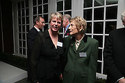 Mary Rittmann and Myra Millinger, Maricopa Partnership for Arts and Culture,  Arizona Office of Tourism, and Arizona Department of Commerce<br /> In association with the Architecture Foundation and Blueprint magazine host Phoenix: 21st Century City , Serpentine Gallery, London. 12 March 2007.  -DO NOT ARCHIVE-© Copyright Photograph by Dafydd Jones. 248 Clapham Rd. London SW9 0PZ. Tel 0207 820 0771. www.dafjones.com.
