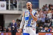 DESCRIZIONE : Campionato 2014/15 Dinamo Banco di Sardegna Sassari - Umana Reyer Venezia<br /> GIOCATORE : David Logan<br /> CATEGORIA : Ritratto Delusione<br /> SQUADRA : Dinamo Banco di Sardegna Sassari<br /> EVENTO : LegaBasket Serie A Beko 2014/2015<br /> GARA : Dinamo Banco di Sardegna Sassari - Umana Reyer Venezia<br /> DATA : 03/05/2015<br /> SPORT : Pallacanestro <br /> AUTORE : Agenzia Ciamillo-Castoria/L.Canu