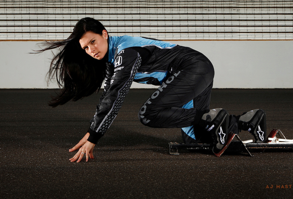 5/16/2007 9:31:15 AM -- Indianapolis, IN, U.S.A.. -- IndyCar driver Danica Patrick is in her third year driving in the IndyCar series.  During her time racing Indy cars, she has won the pole position several times, but has never won a race. -- ..****** This information is from the original assignment and is for reference only.  Please remove from final caption. *********** ....Photo by AJ Mast, Freelance..