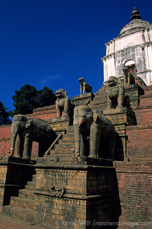 Asia, Nepal, Bhaktapur. Fasidega Temple.