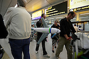 airport arrival terminal hall Amsterdam Schiphol