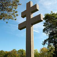 The Charles de Gaulle Memorial in Colombey-les-Deux-Eglises.
