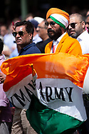 Indian fan at the 4th Cricket Test Match between Australia and India at The Sydney Cricket Ground in Sydney, Australia on 03 January 2019.