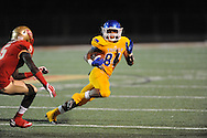 Lafayette High vs. Tupelo's Donte Freeman (84) in Oxford, Miss. on Friday, August 22, 2014. Tupelo won the season opener 20-0.