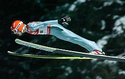 01.02.2011, Vogtland Arena, Klingenthal, GER, FIS Ski Jumping Worldcup, Team Tour, Klingenthal, im Bild Pascal Bodmer, GER, während der Qualifikation // during the FIS Ski Jumping Worldcup, Team Tour in Klingenthal, Germany 1/2/2011. EXPA Pictures © 2011, PhotoCredit: EXPA/ Jensen Images/ Ingo Jensen +++++ ATTENTION +++++ GERMANY OUT!