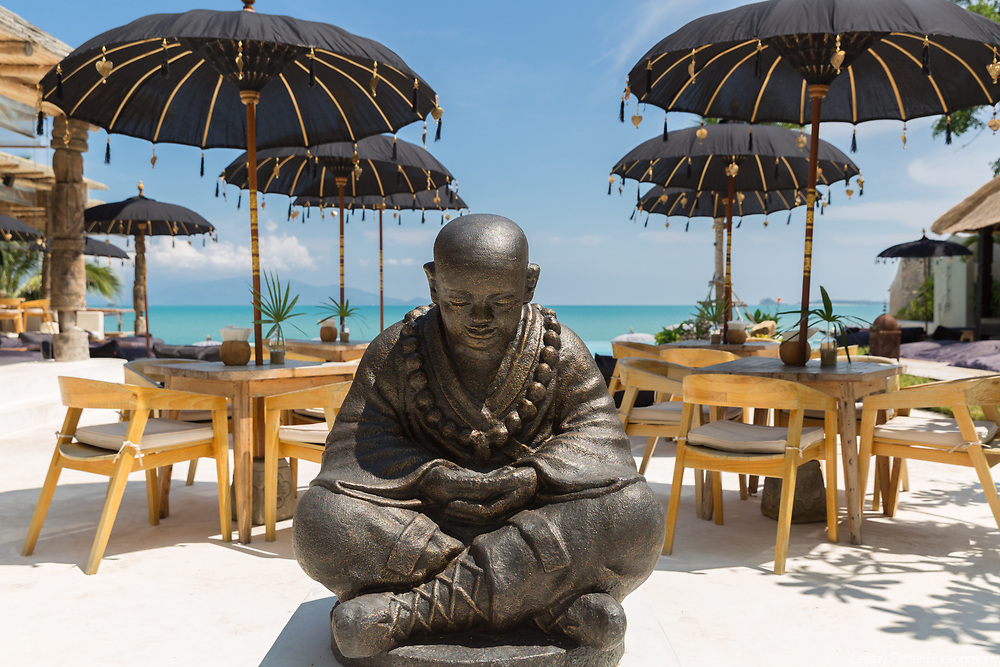 Budhha at Karma Beach Resort, a unique resort located on Bophut Beach, Koh Samui, Thailand