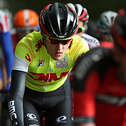 30-09-2016: Wielrennen: Olympia Tour: Zutphen  <br />ZUTPHEN (NED) wielrennen    <br />De Rus Pavel Sivakov verdedigde ook in de vierde etappe de gele leiderstrui