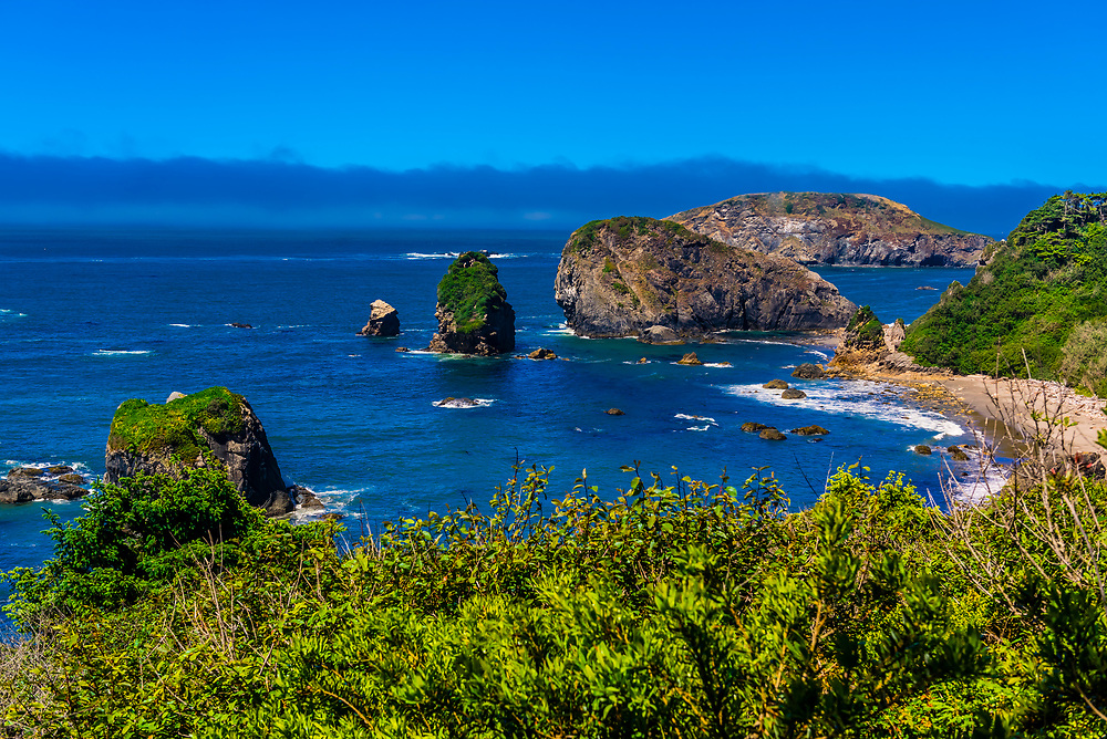 Harris Beach State Park, Brookings, Oregon USA.