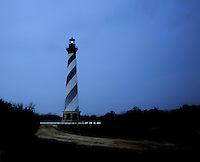 AA03208-01...NORTH CAROLINA - Cape Hatteras Lighthouse in the Cape Hatteras National Seashore.