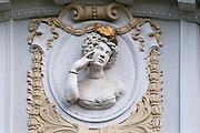 Relief, Baden bei Wien, Niederösterreich, Österreich .|.Baden, Niederösterreich, Austria..