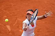 Roland Garros 2011. Paris, France. May 28th 2011..Chinese player Na LI against Petra KVITOVA