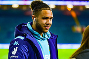Leeds United forward Tyler Roberts (11) arrives at the ground during the EFL Sky Bet Championship match between Leeds United and Millwall at Elland Road, Leeds, England on 28 January 2020.
