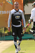 Nicky Boje of the Warriors during the Warriors training session held at St Georges Park in Port Elizabeth on the 16 September 2010..Photo by: Shaun Roy/SPORTZPICS/CLT20