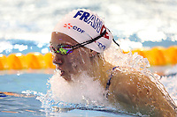 Camille MUFFAT - 09.12.2006 - 100m Brasse - Championnat d'Europe Natation petit bassin - Helsinki<br />Photo : Diener / Icon Sport