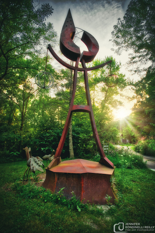 Things you will see at the Paul Bobrowitz Sculpure Gallery in Colgate, WI.