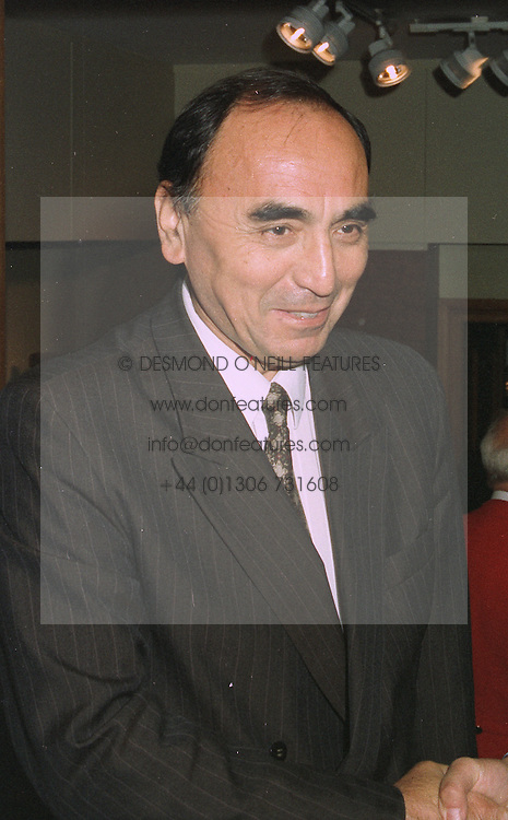 The Ambassador of Uzbekistan MR F TESHABEV at a party in London on October 20th 1997.MCG 3