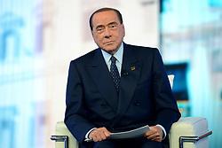 May 24, 2019 - Milan, italy - Milan, Silvio Berlusconi guest at the TV program ''Stasera Italia'' - Silvio Berlusconi (Credit Image: © Alberto Scarpinato/IPA via ZUMA Press)