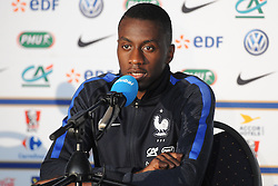 01.06.2016, Alpenstadion, Neustift, AUT, UEFA Euro, Frankreich, Vorbereitung Frankreich, Pressekonferenz, im Bild Blaise Matuidi (FRA) // Blaise Matuidi of France during a press conference of Team France for Preparation of the UEFA Euro 2016 France at the Alpenstadion in Neustift, Austria on 2016/06/01. EXPA Pictures © 2016, PhotoCredit: EXPA/ ERICH SPIESS