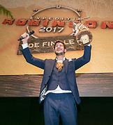 2017-12-21. Cinemec Utrecht. Carlos Platier Luna wint Expeditie Robinson 2017.
