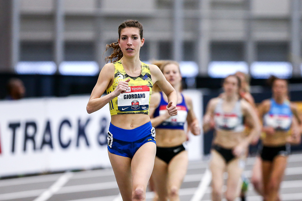 USATF Indoor Track and Field Championships<br /> held at Ocean Breeze Athletic Complex in Staten Island, New York on February 22-24, 2019; BAA, adidas, Two Mile,