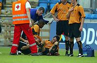 Fotball, 21. juli 2004, Treningskamp, Lyn - Wolverhampton, Vio Gonela, Wolverhamton