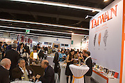 Buchmesse Frankfurt, biggest book fair in the World. Taiwan stand vernissage.
