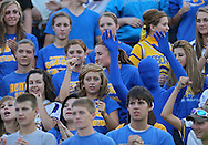Benton Community students during the first half of their game between Vinton-Shellsburg and Benton Community at Benton Community High School in Van Horne on Friday evening, August 24, 2012.