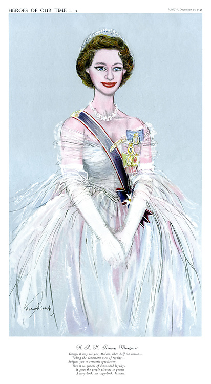 Heroes Of Our Time - 7. H.R.H Princess Margaret