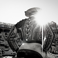 "A Mexican ""Picador"",  ride a horse  waiting  for the beginning of the show, during one of the Oldest Bullfighting carnival in Latin America.  Every year since 1831 the people of Autlan, in the south west of Mexico celebrates a festivities before  the beginning of the Easter."