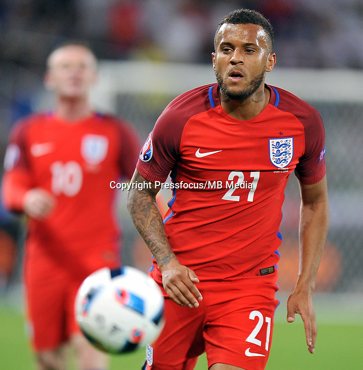 2016.06.20 Saint Etienne<br /> Football UEFA Euro 2016 group B game between Slovakia and England<br /> Ryan Bertrand<br /> Credit: Norbert Barczyk / PressFocus