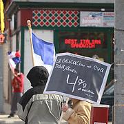 Campaña de apoyo  de Somos Patria al 4% en educacion.
