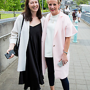 11.05. 2017.                                                 <br /> Over 20 leading Irish and international fashion media and influencers converged on Limerick for 24 hours on, Thursday, 11th May for a showcase of Limerick&rsquo;s fashion industry, culminating with Limerick School of Art &amp; Design, LIT, presenting the LSAD 360&deg; Fashion Show, sponsored by AIB.<br /> Pictured at the event were, Natalie B Coleman and Cybil Mulcahy, Evoke.ie. Picture: Alan Place