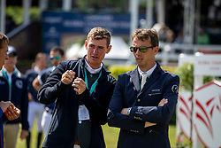 VERMEIR Wilm (BEL), SMOLDERS Harrie (NED)<br /> Hamburg - 90. Deutsches Spring- und Dressur Derby 2019<br /> Parcoursbesichtigung<br /> GLOBAL CHAMPIONS LEAGUE<br /> CSI5* Int. Springprüfung nach Fehlern und Zeit <br /> Wertungsprüfung der Global Champions League <br /> Qualifikation zum LGCT Grand Prix<br /> 01. Juni 2019<br /> © www.sportfotos-lafrentz.de/Stefan Lafrentz
