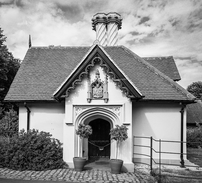Fulham Palace Gothic Gatehouse Lodge - London, England, 2017