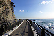 Japan Enoshima island at Chigogafuchi look out near the Iwaya Cave