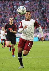 08.03.2020, Allianz Arena, Muenchen, GER, 1. FBL, FC Bayern Muenchen vs FC Augsburg, 25. Runde, im Bild Serge Gnabry // during the German Bundesliga 25th round match between FC Bayern Muenchen and FC Augsburg at the Allianz Arena in Muenchen, Germany on 2020/03/08. EXPA Pictures © 2020, PhotoCredit: EXPA/ SM<br /> <br /> *****ATTENTION - OUT of GER*****