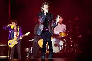 ARNHEM - Leadzanger Mick Jagger van de Britse rockband The Rolling Stones tijdens de show de GelreDome. De show in Arnhem is onderdeel van hun No Filter Tour. copyrugh robin utrecht