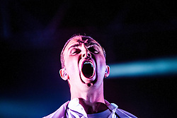 Hurts on the King Tuts Wah Wah tent, Sunday, T in the Park 2013.<br /> &copy;Michael Schofield.
