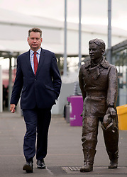 Scottish Conservatives finance spokesman Murdo Fraser at Edinburgh Airport, presenting the party's call for a cut in air departure tax. pic copyright Terry Murden @edinburghelitemedia