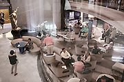 BALI, INDONESIA JAN 2015;<br />embarkation day, people get together at the main area on board of the Chrystal Symphony Cruise docked in the Harbour in Bali, Indonesia, Jan 2015<br />@Giulio Di Sturco