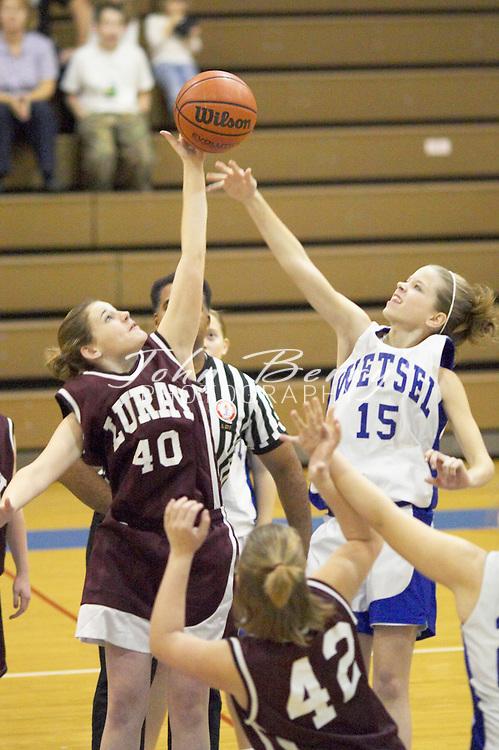 Wetsel Girls Basketball.vs Luray.First Period.January 4, 2004